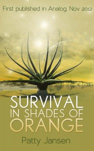 Survival in Shades of Orange by Patty Jansen