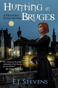 Hunting in Bruges by E.J. Stevens