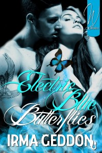 Electric Blue Butterflies by Irma Geddon