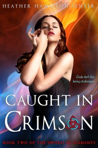 Caught in Crimson by Heather Hamilton-Senter