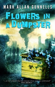 Flowers in a Dumpster by Max Allan Gunnells