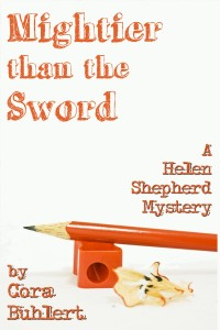 Mightier than the Sword by Cora Buhlert