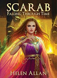 Scarab: Falling Through Time by Helen Allan