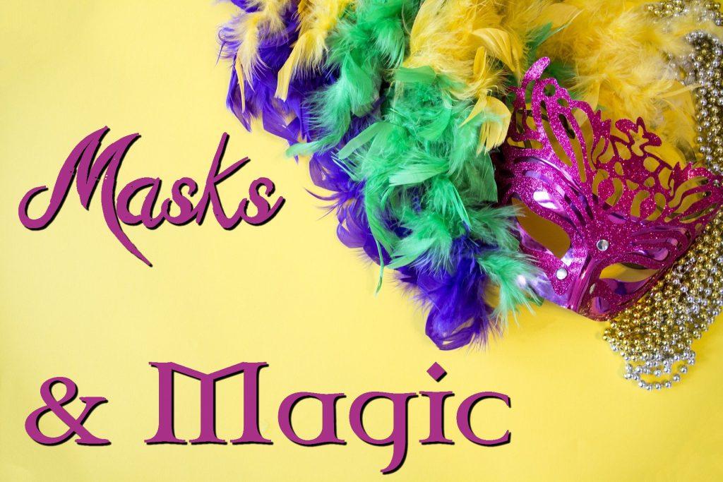 Masks and Magic banner
