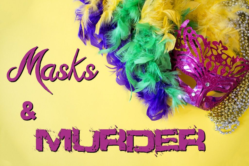 Masks and Murder banner