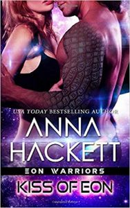 Kiss of Eon by Anna Hackett